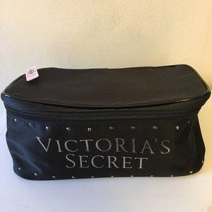 NEW Victoria's Secret Makeup Travel Bag 3 Pc. Set
